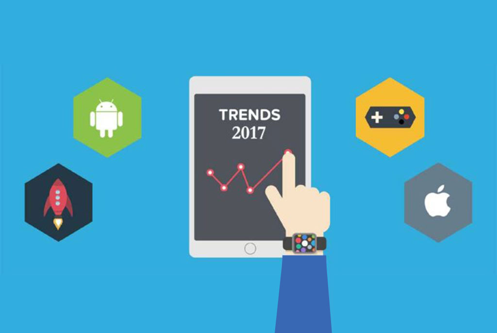 A Few Most Popular Mobile App Development Trends in 2017