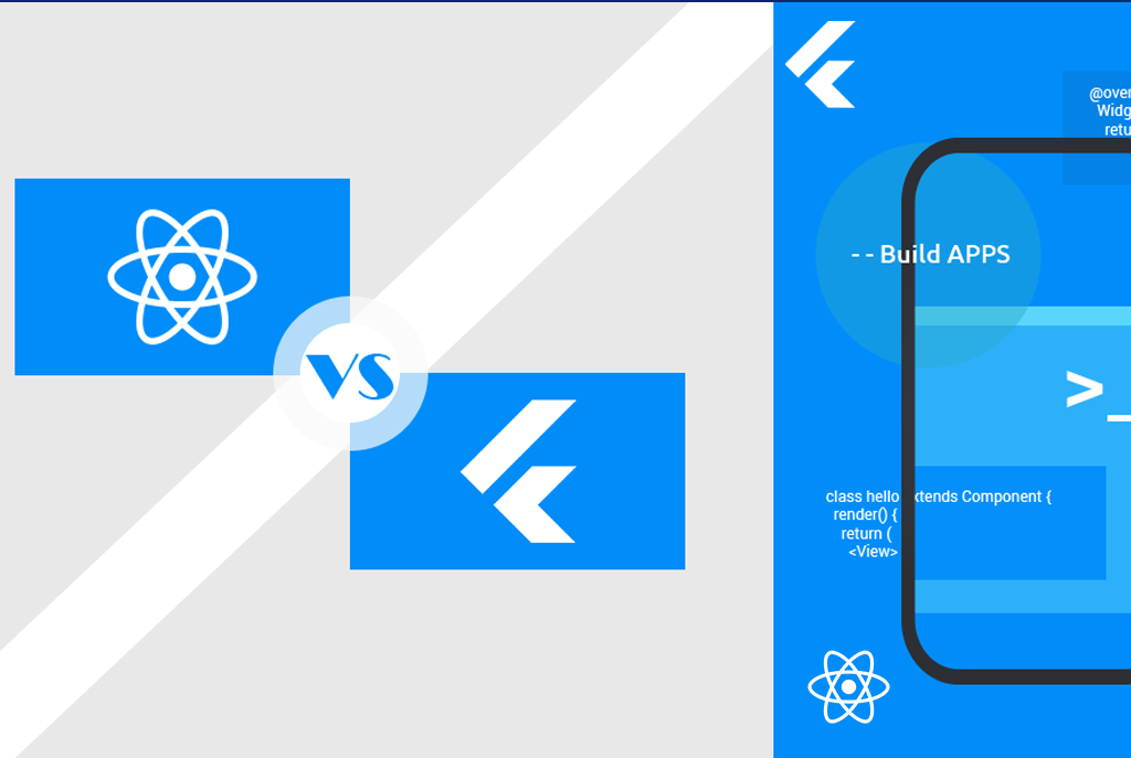 Know the Details: Flutter Vs React Native Framework
