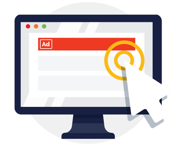 Pay Per Click(PPC) banner